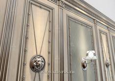 Буазери INT-033 - Фото - Ставрос Interior Sketch, Interior Design, Interior And Exterior, Door Handles, Carving, Doors, Mirror, Luxury, Wall