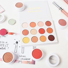 I've been forced to stay in bed since Saturday and my back still hurts like crazy Maybe staring at pretty @colourpopcosmetics makeup will make me feel better