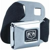 d5acead4c4fd12 Official DODGE Seat Belt belt and buckle combo canvas Buckle Down.  22.00  Ford Clothing