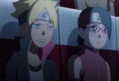 Boruto and sarada Naruto And Sasuke, Naruto Gif, Naruto Images, Naruto Cute, Sarada E Boruto, Shikamaru, Boruto Next Generation, Boruto Naruto Next Generations, Sakura Haruno