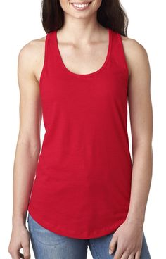 Next Level N1533 Ladies' Ideal Racerback Tank - JiffyShirts.com