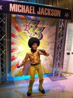 Madame Tussauds Wax Museum, young Michael Jackson