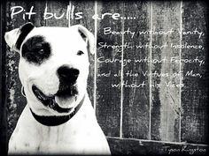 Pit bulls Are...