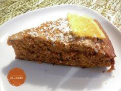 Bizcocho de Espelta de Zanahoria y Naranja