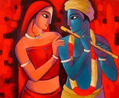 Sekhar Roy | Paintings by Sekhar Roy | Sekhar Roy Painting - SuchitrraArts.com