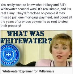 What The Clinton Crime Family Foundation doesn't want you to know, or hope you are too young to remember.