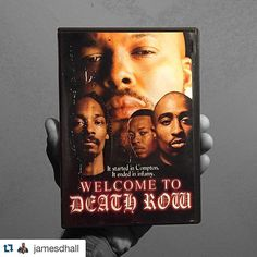 Shout out for our #FridayFan @jamesdhall he obviously has a great collection of films!  #WelcomeToDeathRow #DeathRowRecords #SugeKnight #DrDre #SnoopDogg #2Pac #mycollection #myhobbies #whatimwatching #documentary #westcoast #wtdr