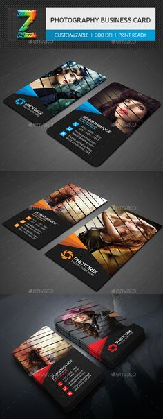 Photography Business Card - Creative Business Cards Download here : https://graphicriver.net/item/business-card-bundle/19120992?s_rank=172&ref=Al-fatih