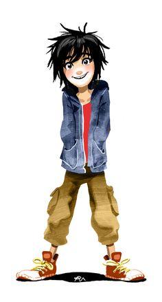 Hiro Hamada Big Hero 6 by zPePhungz.deviantart.com on @DeviantArt