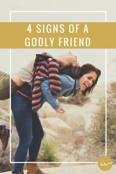 4 Signs of a Godly Friend // Whole Magazine {I tried to read this article from both perspectives. I hate to admit that I have received far more than I've given. I am very thankful for the friends that God has blessed me with. It is my prayer that I will grow to BE as good a friend to each of them. ~ Belle}