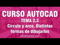 2.4 Cómo dibujar círculos en Autocad y sus tipos - InfoArt Online