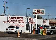 Carolina's Mexican Food, Phoenix, AZ. my FAVORITE place. best buttered tortillas of my life