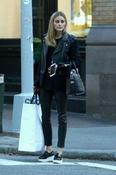 olivia palermo casual street style