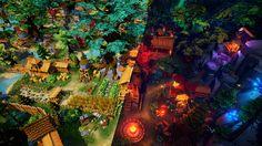 Fantasy Environment https://www.unrealengine.com/marketplace/fantasy-environment