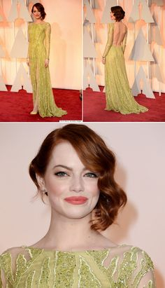 Breaking down Emma Stone's look at the Oscars