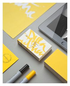 Identity & Collateral by Ben Johnston, via Behance