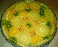 Tort Diplomat cu fructe preparare Kiwi, Recipes, Pineapple, Recipies, Ripped Recipes, Cooking Recipes, Medical Prescription, Recipe