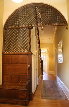 Moorish Fretwork screen at the Gastonian Historic Inn in Savannah