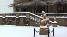 Beautiful video tour of a magical #snow day at #Biltmore in #Asheville, #NC