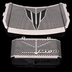 Silver Color Motorcycle Accessories Radiator Guard Protector Grille Grill Cover For YAMAHA MT10 MT-10 MT 10 2016-2017