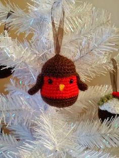Christmas decoration/ robin