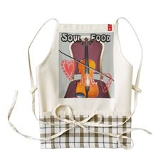 music heart combination of food for the soul in the making Customized Product Traditional ethnic designer gifts Hakuna Matata edgy Accessories colors, Retro Art , Nice cool vintage Soul #Food Zazzle #HEART Apron #Amazing #Stuff, #beautiful stuff #products #sold on #Zazzle
