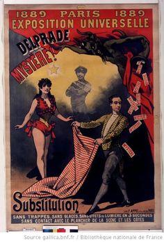 Delprade Mystère ! (Exposition universelle 1889 Paris) Paris 1889