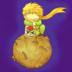 The Little Prince Famous Book Quotes, Famous Books, Little Prince Quotes, The Little Prince, So Cute Images, St Exupery, Art Hub, Little Books, Anime Art