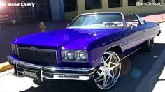 1975 CLEAN CHEVROLET CAPRICE CONVERTIBLE DONK