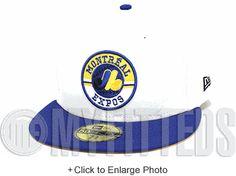 c6ecba0fa1c Montreal Expos Glacial White Royal Blue Maize Black AJ V Laney Matching New  Era Hat New