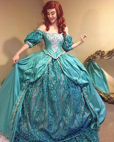 Ariel Costumes, Masquerade Costumes, Cosplay Costumes, Ariel Cosplay, Disney Cosplay, Disney Princess Dresses, Disney Dresses, Ariel Dress, Fantasy Dress