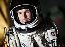 Extreme athlete Felix Baumgartner landed safely on Earth after a 24-mile jump from the stratosphere in a dramatic, daring feat that may also have marked the world's first supersonic skydive.