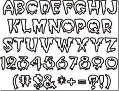 Leg Tattoo Men, Leg Tattoos, Tattoos For Guys, Halloween Fonts, Graffiti Alphabet, Alphabet Fonts, Iron On Letters, Birthday Images, Logo Inspiration