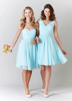 Addison design: color- mint. Girls choose their style but same color??