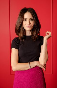 EVENTS NBCUniversal Press Tour Portraits AUGUST 02 2016 Actress Abigail Spencer of 'Timeless' poses for a portrait in the the NBCUniversal Press Tour...