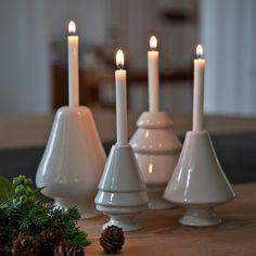 Kähler Kerzenleuchter Avvento Weiß   95 mm   Kerzenleuchter   BåRWALDSON   Skandinavisches Design