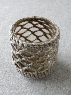 DIY   gehäkelte Vase und sommerlicher Wildblumenstrauß – mxliving