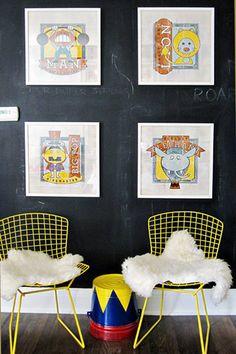 habitaciones infantiles decoración pared