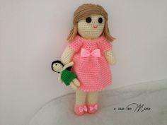 Bambola fatta a mano uncinetto bambola amigurumi bambola abito rosa giocattolo bambolina morbida fatta a mano in Italia giochi e giocattoli giocattoli bambole regalo per bambina arte bambola bambola fatta a mano abito bambola rosa bambola a uncinetto etsyitaliateam crochet doll child toy crochet doll toy made in Italy 20.00 EUR #goriani