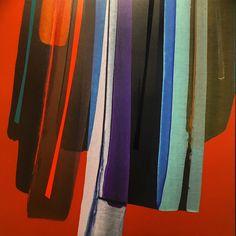 Mark Jessett, Totem (3), 2017, acrylic on paper over board. 300x300mm