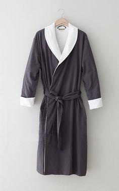 Coyuchi seersucker robe, $112