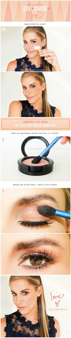 Easy 10 Minute Makeup Ideas for Work - Quick Make-up Tip - Simple And DIY Beauty Ideas And Make Up For Everyday Work Events To Get You Ready Quickly And Easily. Ideas For Different Faces, Eyebrows, Eyeliner, Eyeshadow, and Different Skin Colors - http://thegoddess.com/easy-makeup-ideas-for-work