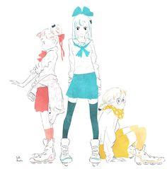 Yuki.Kawatsu Illustration — お昼からも頑張りましょう〜_φ(・v・♬
