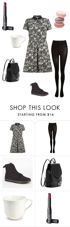 """""""11"""" by fashion-first-darling ❤ liked on Polyvore featuring Hobbs, SELECTED, Dr. Martens, rag & bone and NARS Cosmetics"""