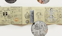 My Diary by Anna Rusakova, via Behance
