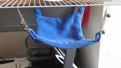 Budgie Hammock  •  Free tutorial with pictures on how to make a pet toy in under 70 minutes
