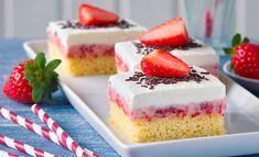 Sněhobílá vosí hnízda Rezept | Dr. Oetker Cheesecake, Food, Cheesecakes, Essen, Meals, Yemek, Cherry Cheesecake Shooters, Eten