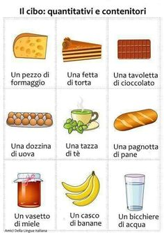 Cibo #italianlessons