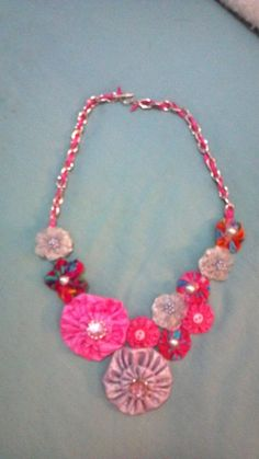 YoYo Necklace by bibbiytbobbityboo on Etsy, $25.00