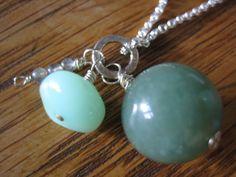 Jade and opal.  $27.00